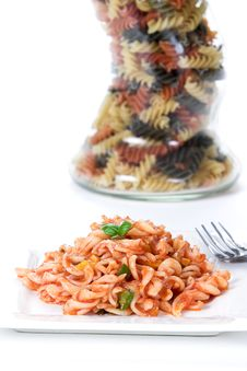 Noodle Dish 2 Royalty Free Stock Photo