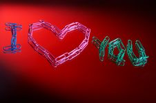 Free I Love You Stock Photography - 1781832