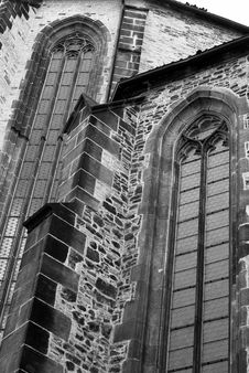 Free Black And White Cathedral Stock Images - 1781924
