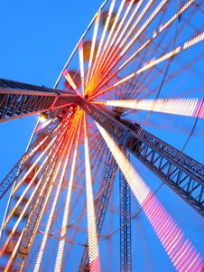 Free Ferris Wheel At Dusk Royalty Free Stock Photo - 1782755