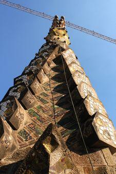 Free La Sagrada Familia Royalty Free Stock Photos - 1783478