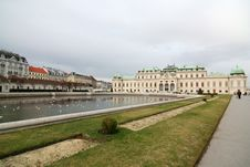 Free Belvedere Palace, Vienna Royalty Free Stock Photos - 1783618