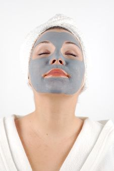 Beauty Mask 12 Stock Photo