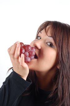 Free Grapes Tasting 4 Royalty Free Stock Images - 1784189