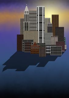 Free City Stock Image - 1785191