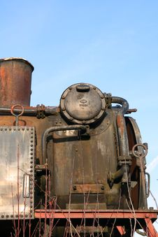 Free Derelict Steam Engine Stock Photography - 1785492