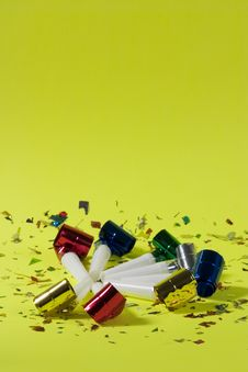 Free Party Blowers Royalty Free Stock Photos - 1785848