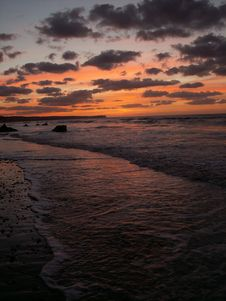 Free Sunset In Normandy Stock Photos - 1786183