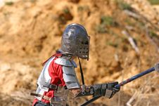 Battle Ready Knight Royalty Free Stock Image