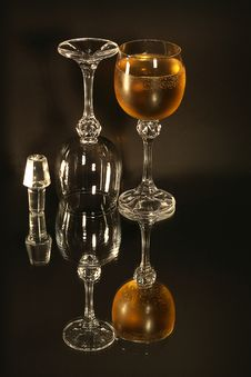 Free Still Life Of The Wine Glass Stock Image - 1786681