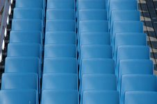 Free Blue Chairs Stock Image - 1787341