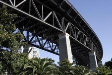 Free Under The Sydney Harbour Bridge Stock Photo - 1787860