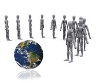 Free 3d People Royalty Free Stock Photo - 1788195