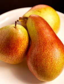 Free Three Pears Royalty Free Stock Images - 1788299
