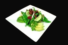 Free Snow Pea And Bean Salad Royalty Free Stock Photos - 1788618