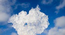 Free Bit Of Ice On Sky Background Royalty Free Stock Image - 1789126