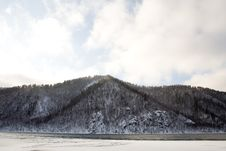 Free River Angara Near Lake Baikal Royalty Free Stock Photo - 1789135