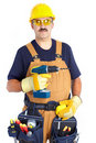 Free Mature Contractor Stock Images - 17804314