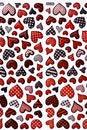 Free Colorful Heart Shape Isolated On White Background Stock Image - 17806361