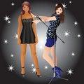 Free Beautiful Girls. Stock Photo - 17809570