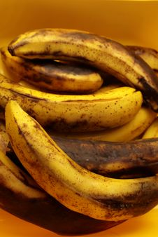 Free Spotted Bananas Royalty Free Stock Image - 17800006