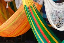 Free Colorful Hammocks Stock Image - 17800111