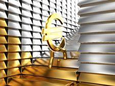 Free An Euro Grows Stock Image - 17800591
