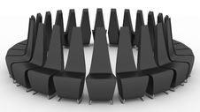 Free The Arm-chairs Royalty Free Stock Images - 17800799