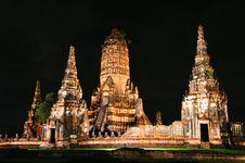 Free Old Thai Temple Royalty Free Stock Photos - 17801318