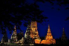 Free Old Thai Temple Royalty Free Stock Photo - 17801325
