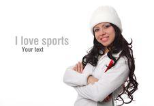 Portrait Of Woman In Sportswear Stock Photography