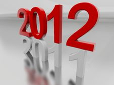 Free Year 2012 Stock Photography - 17803312