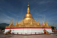 Free Shwedagon Pagoda Royalty Free Stock Photo - 17804475