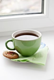 Free Biscuits And Tea Stock Photo - 17804530