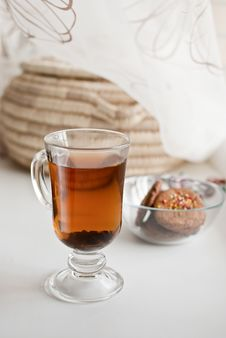 Free Biscuits And Tea Royalty Free Stock Photo - 17804545
