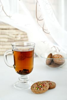 Free Biscuits And Tea Stock Photography - 17804572