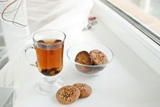 Free Biscuits And Tea Stock Photography - 17804592