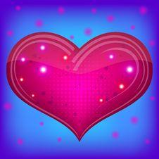 Free Valentine Heart Stock Photo - 17804720