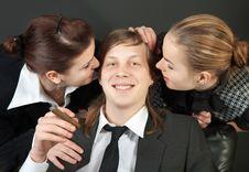The Happy Boss Stock Photos