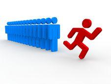 Free Team Leader Stock Image - 17805161