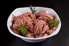 Free Bowl Of Minced Pork Stock Photos - 17805413