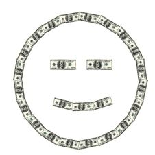 Free Money Face Smiling Royalty Free Stock Images - 17806619