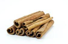 Free Cinnamon Sticks Royalty Free Stock Photos - 17806778