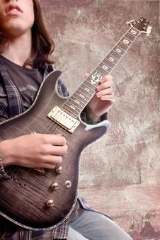 Free Guitarist Stock Photography - 17806952