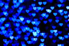 Free Colorful Heart Shape Background Royalty Free Stock Images - 17807669