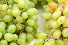 Free Green Grapes Royalty Free Stock Photo - 17807695