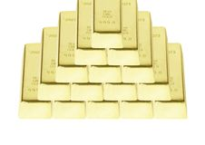 Free Gold Bar Royalty Free Stock Photography - 17808287