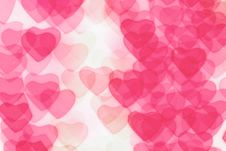 Free Colorful Heart Shape Background Stock Images - 17808584