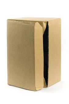 Free An Empty Card Board Box Royalty Free Stock Photos - 17808988