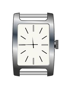 Women S Silvery Wristwatch Royalty Free Stock Images